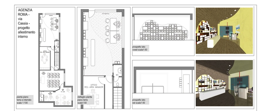 Dg allestimenti progettazione impianti pubblicit for Progettazione spazi interni